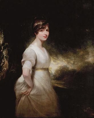 Francis Osborne, 1st Baron Godolphin - Elizabeth Charlotte Eden, Lady Godolphin (1780-1847) (William Beechey)