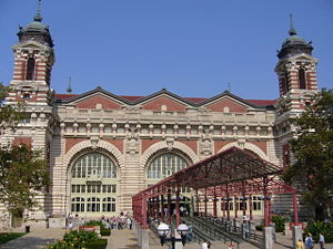 John Charles Tarsney - Image: Ellis Island Entrance