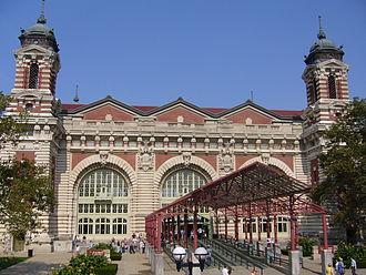 John Charles Tarsney - Image: Ellis Island Entrance