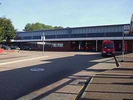 Eltham station west entrance.JPG