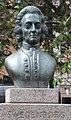 Emanuel Swedenborg (1688-1772), bronsbyst utförd av skulptören Gustav Nordahl (1973), Mariatorget, Stockholm, 2019.jpg,.jpg