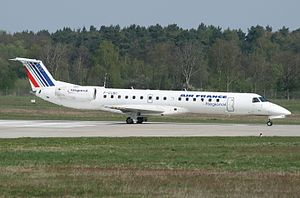 Embraer ERJ 145 Air France, rok 2008