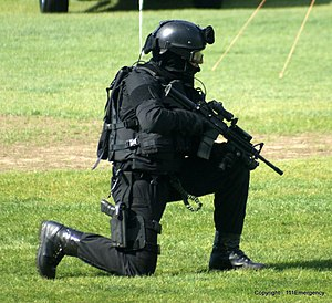Armed Offenders Squad - AOS member in 2010