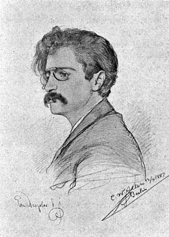 Emil Doepler - A portrait of Emil Doepler by C. W. Allers (1877).