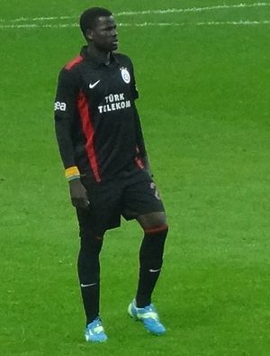 Emmanuel Eboué - Eboué playing for Galatasaray in 2012