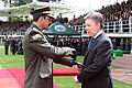 En ceremonia de reconocimiento, el señor Mayor General Rodolfo Palomino López asumió como nuevo Director de la Policía Nacional (9533518068).jpg