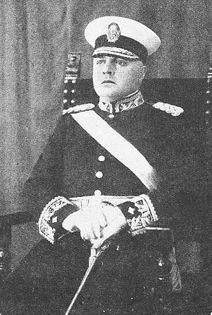 Enrique Mosconi - General Mosconi, dressing in military uniform