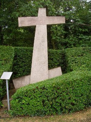 "1356 Basel earthquake - Erdbebenkreuz (""Earthquake cross"") in Reinach"