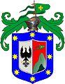 Escudo de Armas para Juan de Argüello Vecino y Regidor de la Ciudad de Popayán de la Provincia del Quito por sus servicios en la conquista de dicha provincia - Villa de Valladolid 20.VII.1538.jpg