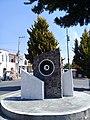 Escultura en Colonia Ferrocarrilera de Apizaco, Tlaxcala.jpg