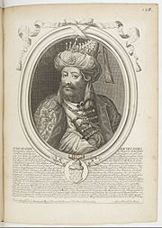 Estampes par Nicolas de Larmessin.f153.Aurangzeb, grand moghol