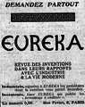 Eureka Advertisement Paris 1917.png