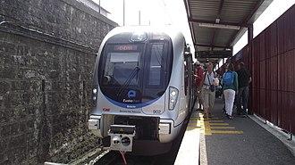 Metro Donostialdea - Image: Eusko Tren Hendaye
