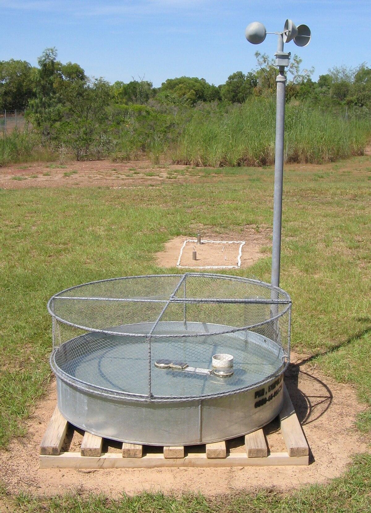 Pan evaporation - Wikipedia