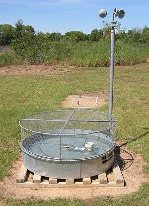 Pan evaporation - Class A evaporation pan