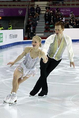 Evgenia Tarasova - Tarasova and Morozov at the 2016–17 Grand Prix Final.