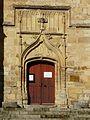 Excideuil église portail sud.JPG