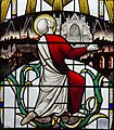 Exeter Cathedral, Stained glass window detail (36232931014).jpg