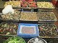 Exotic fish food in street reataurant on Cau Go street..JPG