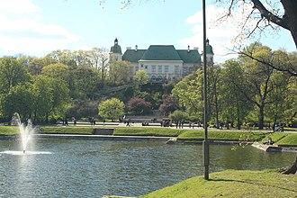 Ujazdów Castle - Image: Exterior of the Ujazdów Castle 2