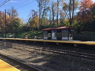 Exton, Pennsylvania - Exton train station, which serves SEPTA and Amtrak trains