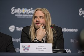 Eyþór Ingi, ESC2013 press conference 07.jpg