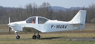 ACBA Midour glider tug made by the Aéro Club du Bas Armagnac, France, 1990s