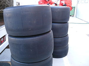 Formula One tyres - Image: F1 Slick Tires
