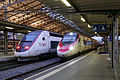 FFS TGV4406 TGV9260 FFS RABe 503014 EC35 Lausanne 300416.jpg