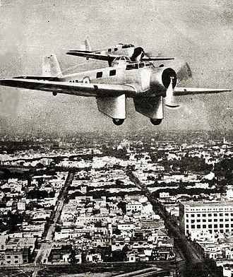 Fábrica Argentina de Aviones - AeMB.2 Bombi bombers in flight