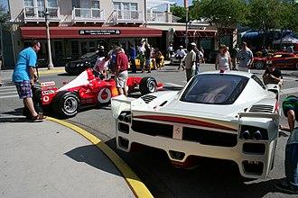 Ferrari FXX - Image: FX Xcelebration 3