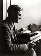 Valokuva muotokuva F. Scott Fitzgeraldista