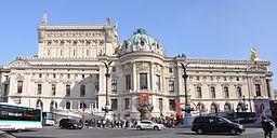 Façade Ouest de l'Opéra Garnier (2014)