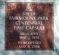 Fairmount park 11 time capsule plaque.jpg