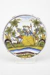 Fajans, tallrik, 1777 - Hallwylska museet - 90441.tif