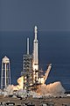 Falcon Heavy clearing the tower 04.jpg