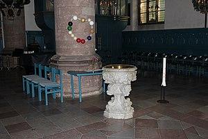 Kristine Church, Falun - Image: Falu Kristine interiör 01