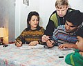 Family from Iran learns calligraphy.jpg