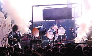 Faust (band) - Faust performing in Manchester in 2007.