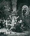 Faust und Mephisto betreten Auerbachs Keller Eduard von Grützner 1923.jpg