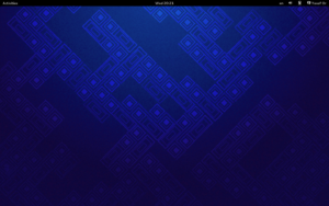 Fedora 19 GNOME Shell Desktop
