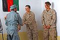 Female Engagement Team teaches Sangin district police combat lifesaving 041211-M-UK709-004.jpg