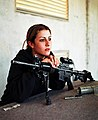 Female Israeli soldier with M4.jpg