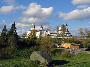Ferapontov Monastery - Difficulty of access helped preserve the monastery intact since the 17th century
