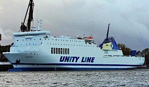 Unity Line - Image: Ferry Galileusz