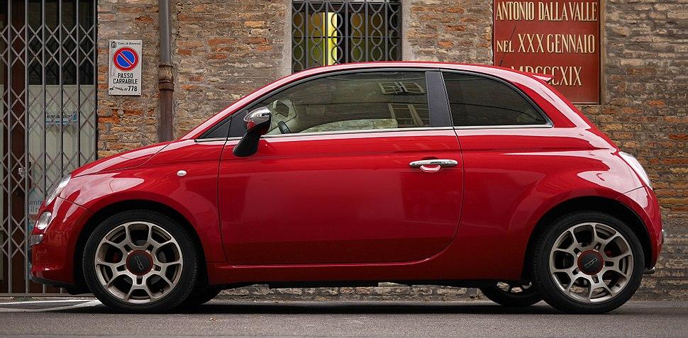 Fiat 500 in Emilia-Romagna