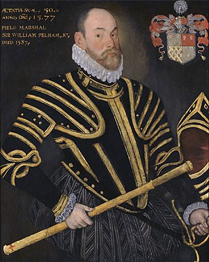Lord Justices (Ireland) - Sir William Pelham, Lord Justice of Ireland