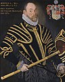 Field Marshal Sir William Pelham, Lord Justice of Ireland (d 1587) by Hieronimo Custodis.jpg