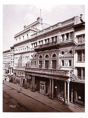 Fifth Avenue Theatre - The theatre in 1899