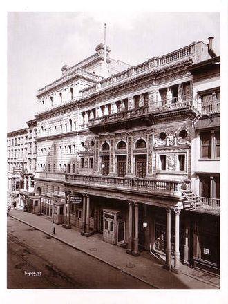 Fifth Avenue Theatre - The theatre in 1899